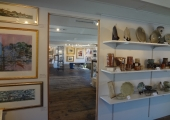 A gallery at Rocky Neck in Gloucester, MA