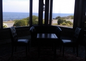 Inside the Ocean View Inn, Gloucester