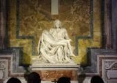 Michelangelo's Pieta in St. Peter's Cathedral