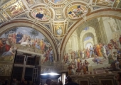 The Vatican Museum's Raphael Rooms