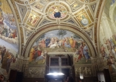 The Vatican Museum's Raphael Rooms