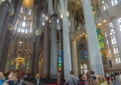October 18, 2012 - Sagrada Famiglia, Barcelona