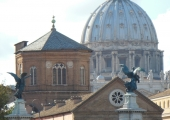 October 14, 2012 - Ponte Sant'Angelo, Rome