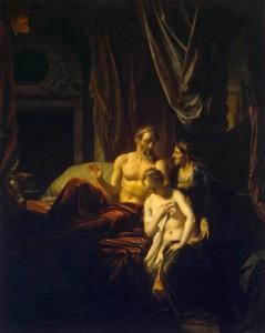 Adriaen van der Werff Sarah Bringing Hagar to Abraham, 1696 The Hermitage, St. Petersburg